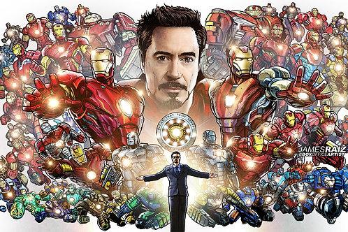 COLOR: 50 Iron Man Suits