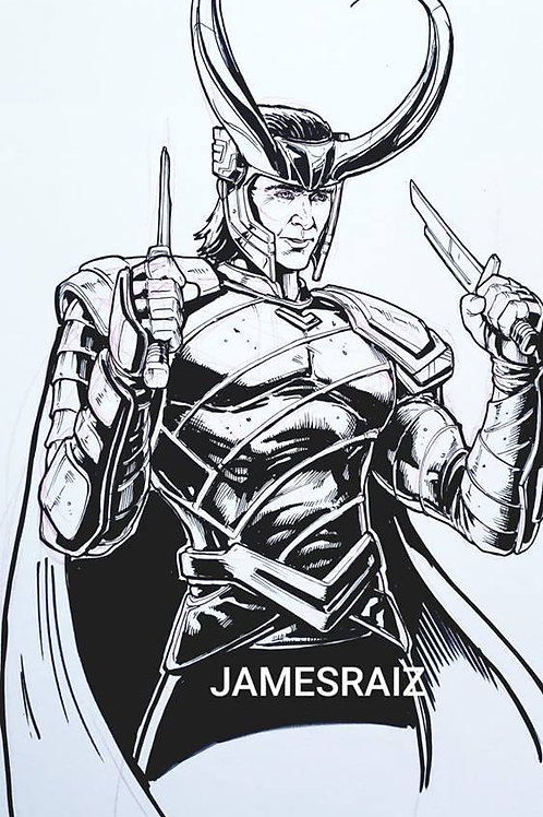 Loki Inktober