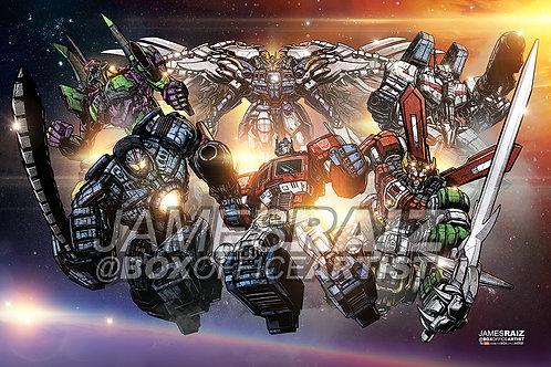 Mech Avengers