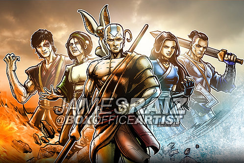 Avatar in a Marvel Style