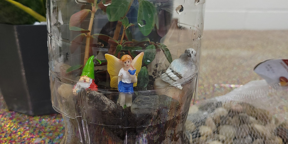 Fairyland Terrarium Making Class