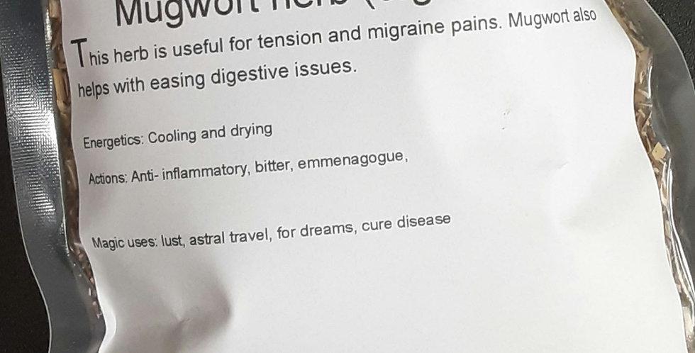 Mugwort herb (organic)