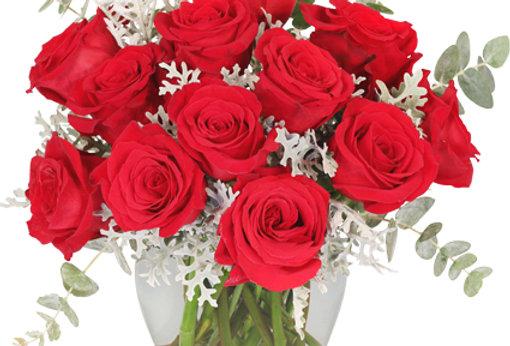 Guilty Pleasure Dozen Roses