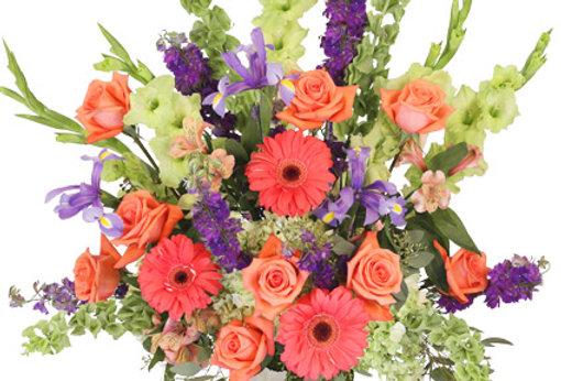 Bittersweet Evening Funeral Flowers