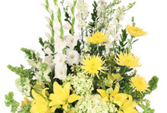 Prayerful Whisper Funeral Flowers