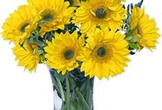 Hello Sunshine! Vase of Flowers
