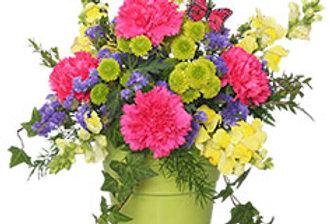 POT O' POSIES Flower Arrangement