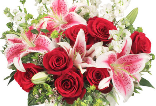 STARTS IN THE HEART Flower Arrangement