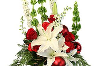 Joyful Christmas Bells Holiday Flowers