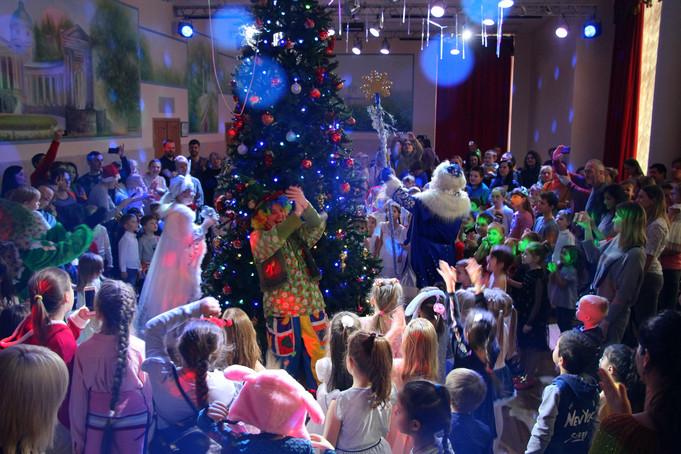 """Новогодняя елочка """"Снеговик и Дед Мороз"""""""