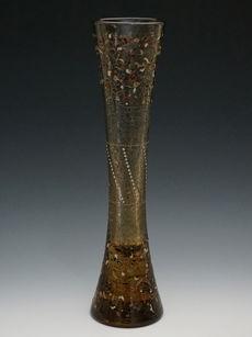 アラベスク文花瓶