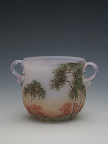 ドーム 風景文花瓶 H:5.5.jpg