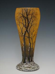 冬景色文花瓶