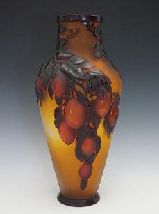 プラム文花瓶