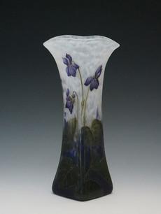 スミレ文花瓶