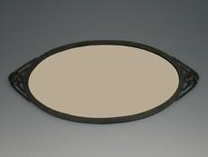 鉄製鏡(楕円)