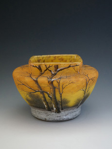 冬景色文鉢