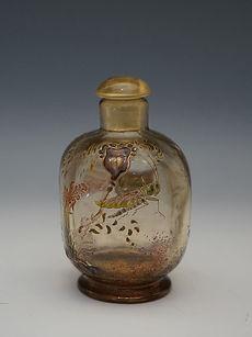 ガレ バッタ文香水瓶 H:8.8.jpg