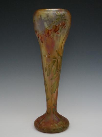 けまん草文花瓶 H:34