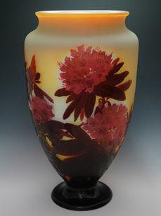 芍薬文花瓶