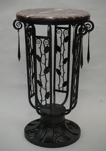 アール・デコ鉄製テーブル