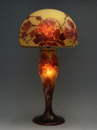 ガレ 木瓜文ランプ