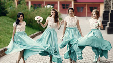Coordinate or Clone? A Bridal Dilemma
