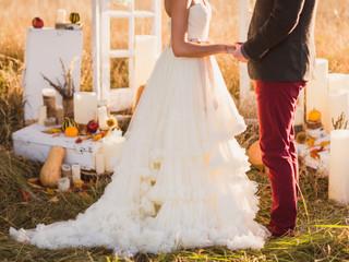 Fall Wedding – Hold the Orange