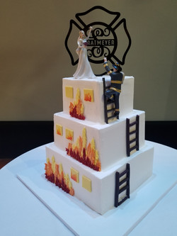 fire wedding