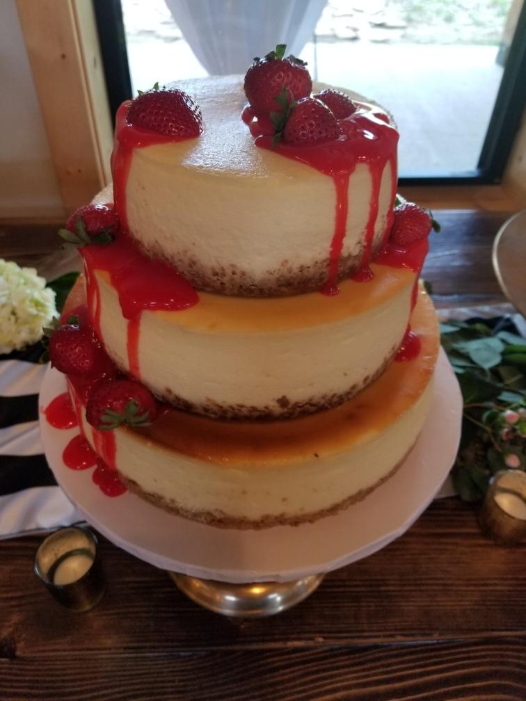 cheesecake wedding