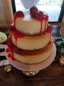 cheesecake wedding