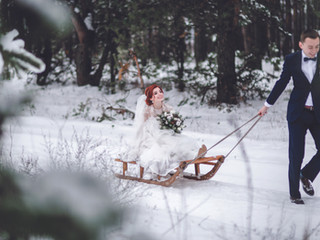 Your Guide to a Cool Winter Wedding