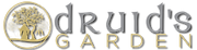 Druid's Garden logo with transparent background.