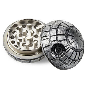 Green goddess. 1.5 inch 3-piece Death Star grinder.