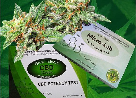 THC / CBD Combo Potency Test Kit