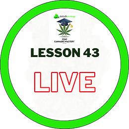 FCM1 Lesson 43 LIVE - 24/11/20