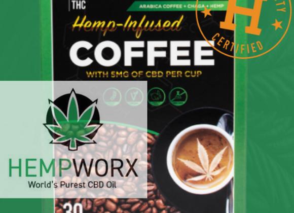 Hemp-Infused Coffee - World's Purest CBD Oil