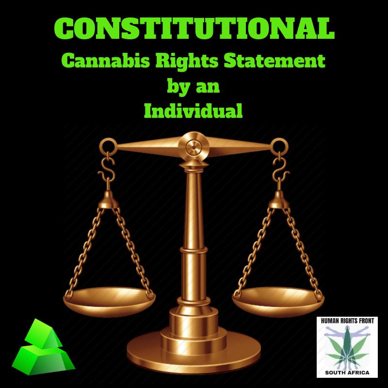 SA Cannabis Rights Statement 2019