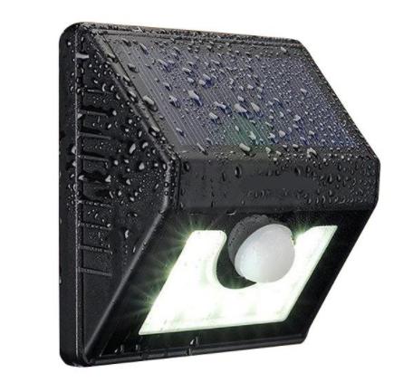 Solar Sensor LED Outdoor Wall Garden light - 8 LEDS