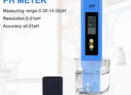 Portable LCD Digital PH Meter