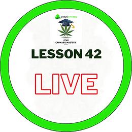 FCM1 Lesson 42 LIVE - 19/11/20