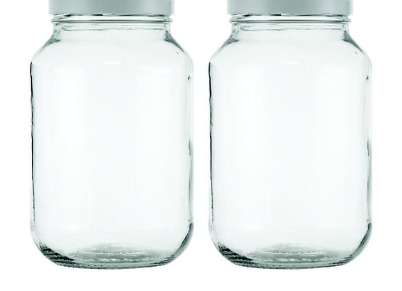 Consol - 3L Masonry Jar - 2pk