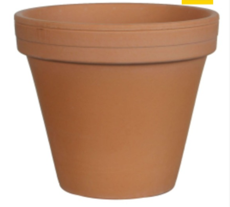 Clay Pot - Terracotta (136mm)