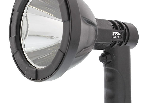 LEDlux LED 600 Lumen 10W Spotlight - Black