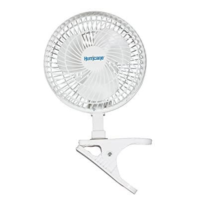 HurricaneHGC736520 Classic Series Clip Fan, 152.4mm, White
