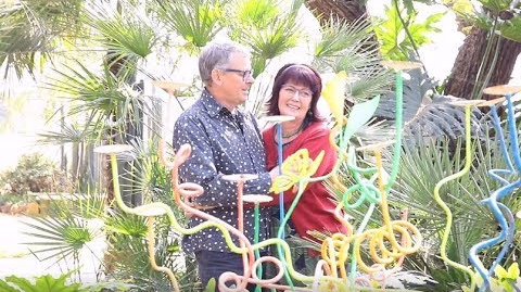 """Jules Stobbs and his partner Myrtle Clarke, commonly known as the """"dagga couple"""" are fighting for the legalisation of Marijuana in South Africa. File photo.  Image: Screengrab via YouTube/TimesLIVE"""