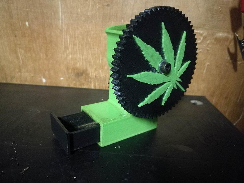 3D Printed Grinder