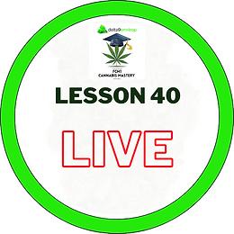 FCM1 Lesson 40 LIVE - 12/11/20