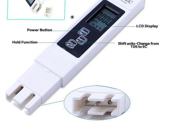 Basic TDS / PPM / EC Handheld Digital Water Meter