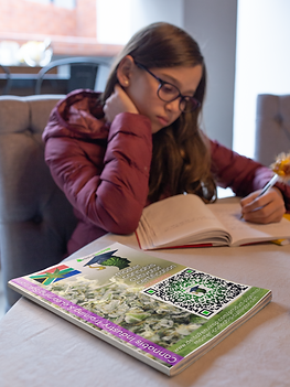 book-mockup-of-a-young-girl-studying-at-